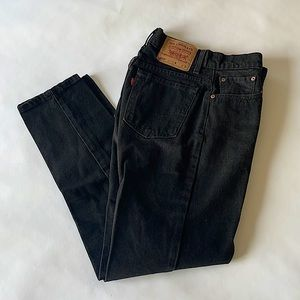 VINTAGE Levi's 550 Relaxed Fit Tapered Leg Jeans 7